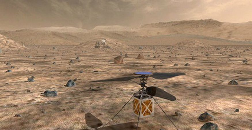 nasa 22  875x450 - NASA Sending Autonomous Helicopter to Mars For The First Time