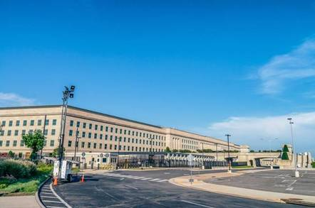 pentagon building - Pentagon on military data-nomming JEDI cloud mind trick: There can be only one (vendor)