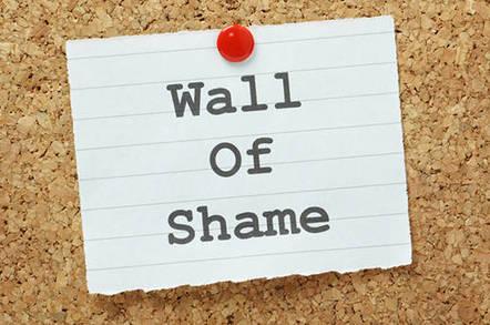 shame shutterstock - FTC names its dirty half-dozen half-assed tech warranty bandits