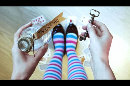 shutetrtsock alice in wonderland - Curiouser and curiouser: Quasi NVDIMMs, GDPR-tastic SaaS and more