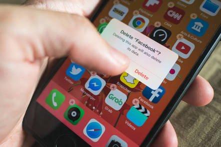shutterstock delete facebook - Sueballs flying over Facebook's Android app data slurping