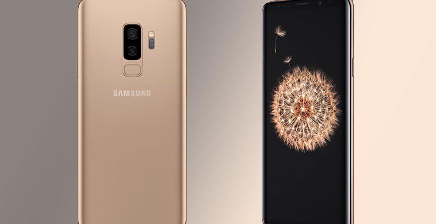Samsung Galaxy S9 Sunrise Gold Limited Edition 875x450 - Samsung Galaxy S9+ 'Sunrise Gold' Limited Edition Launched Alongside 'SmartThings' TV Control App