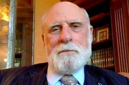 cerf video - Stern Vint Cerf blasts techies for lackluster worldwide IPv6 adoption