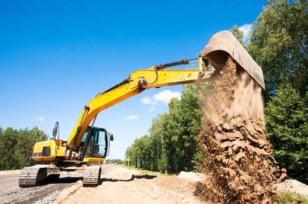 digger image via shutterstock - HostingUK drops offline after losing Farmer vs Fibre competition