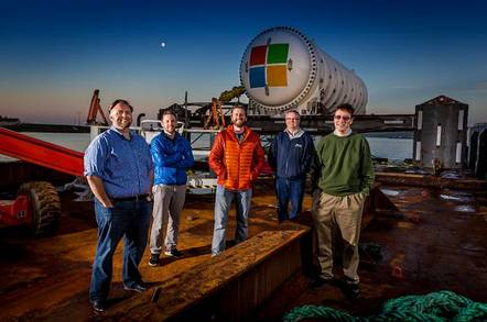 microsoft project natick - Microsoft sinks another data centre with Natick 2