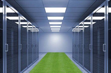 servers and grass - Facebook's new data centre cooling system takes the heat like Zuck in front of Congress