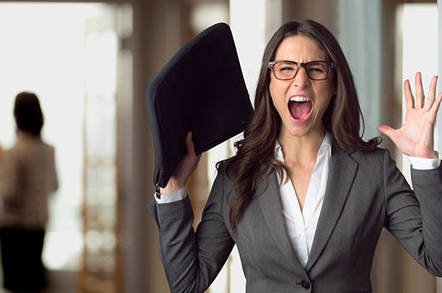 scream shutterstock - AAAAAAAAAA! You'll scream when you see how easy it is to pwn unpatched HPE servers